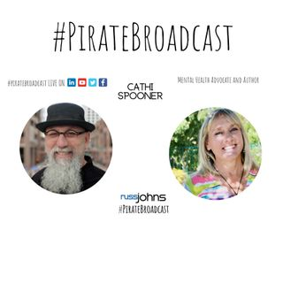 Catch Cathi Spooner on the #PirateBroadcast