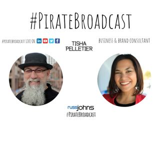 Catch Tisha Pelletier on the PirateBroadcast at