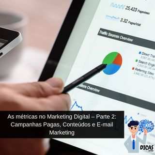 071 As métricas no Marketing Digital – Parte 2: Campanhas Pagas, Conteúdos e E-mail Marketing