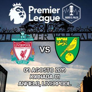 Liverpool vs Norwich City en VIVO