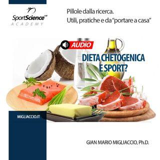 Dieta chetogenica  e sport anaerobico?