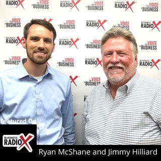 Ryan McShane, Renasant Bank, and Jimmy Hilliard, Swimtime Pools