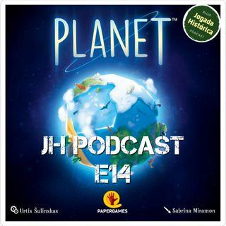 E14 - Vamos criar nosso mundo em Planet!