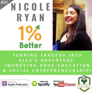 Nicole Ryan – Turning Tragedy into Alex's Adventure, Improving Drug Education & Social Entrepreneurship! – EP121