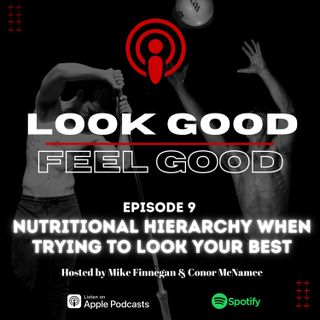 Episode 9: Nutritional Hierarchy When Trying To Look Your Best