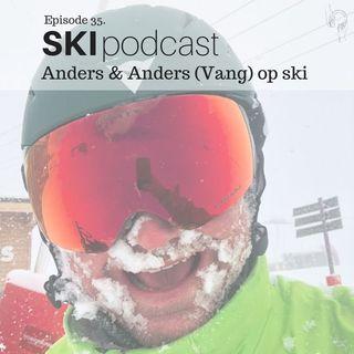 35. Anders & Anders (Vang) på ski