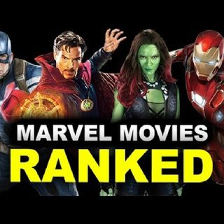 Episode 73 - Marvel Movies Ranked