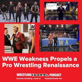 WWE Weakness Propels a Pro Wrestling Renaissance KOP 10.10.19