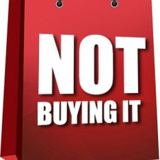 Not Buying It