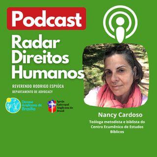#017 -  Palestina, Israel Sionista e a situação das Igrejas Cristãs com a teóloga Nancy Cardoso