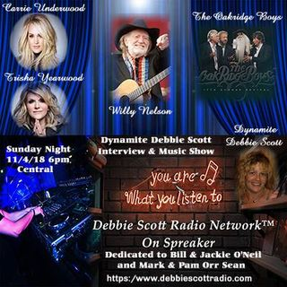 SUNDAY SESH WITH DYNAMITE DEBBIE !!   11-4-18