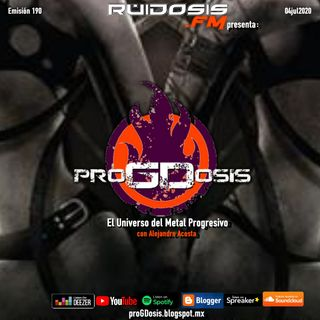 proGDosis 190 - 04jul2020 - Avec Tristesse
