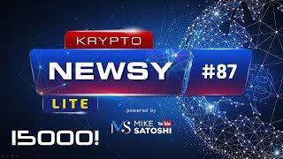 Krypto Newsy Lite #87 | 12.10.2020 | 15000 subów! Dziękuję! Za 5 lat Bitcoin po 1 milion USD!? Wiara z XRP! Społeczności zrobi fork YFI?!