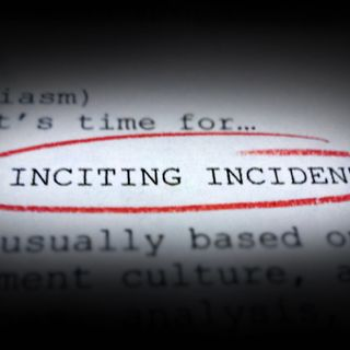 Inciting Incident #83 - Callie Wright on Facebook Live with Aiden and Ris
