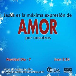 DEVOCIONAL DE NAVIDAD 7 – AMOR DE DIOS