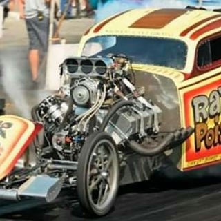 Drag Racing And Musicians
