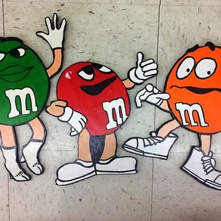 M&M Candy New Flavor Scavenger Hunt