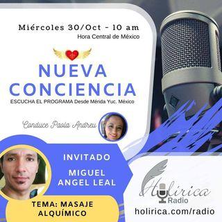 Nueva Conciencia entrevista con Miguel Angel Leal