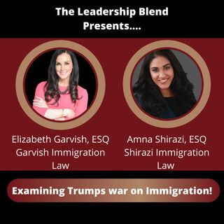 Season One, Episode Twenty-Nine: The war on immigration with Attorney's Elizabeth & Amna
