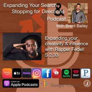 Expanding your creativity and influence with rapper, Fedel S 2.33