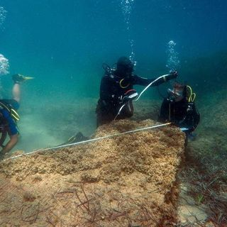 Underwater Ruins of Lost City Discovered