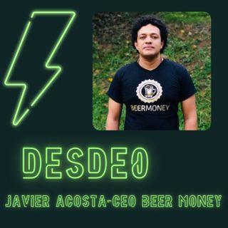 Uniendo realidades blockchain+cerveza- Javier Acosta CEO Beer Money