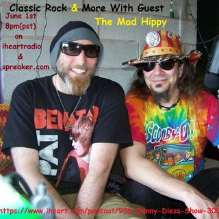 Classic Rock & More with guest The Mad Hippy