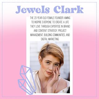 7. The secret to quitting your job and building the life of your dreams, with Jewels Clark from @creatorJewels