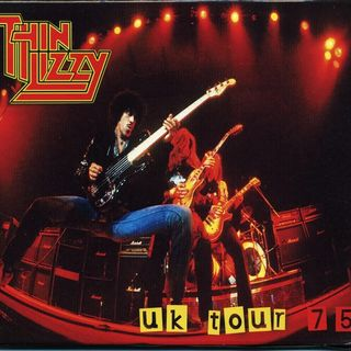Especial THIN LIZZY UK TOUR 75 Classicos do Rock Podcast #ThinLizzy #UKTour75 #spiderverse #captainmarvel #hellboy #birdbox #twd #classic