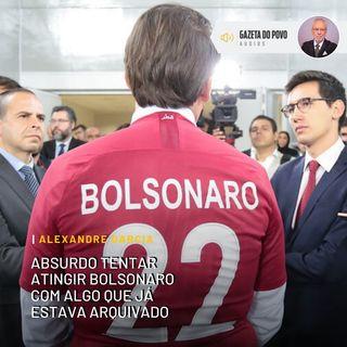 Absurdo! Tentaram atingir Bolsonaro com algo já arquivado