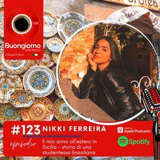 #123 Il mio anno all'estero in Sicilia - Storia di una studentessa brasiliana