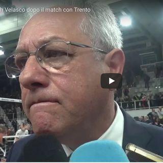 """Modena: Coach Velasco duro dopo il ko con Trento. """"Questo è uno sport di play off, della classifica non me ne frega un cazzo"""""""