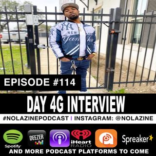 Episode #114 Music Artist DAY 4G Interview