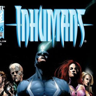 Source Material #132: Inhumans (Marvel)(1998)