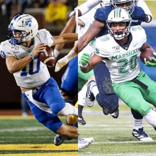 Episode 43: A Conference USA Conversation with MTSU QB Asher O'Hara & Marshall RB Brenden Knox