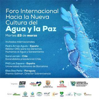 NUESTRO OXÍGENO Foro Internacional hacia la nueva cultura del agua y la paz - Dr. Diego Armando Burgos