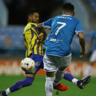 Gol de Belgrano: Juan Pablo Ruíz Gómez 1-1