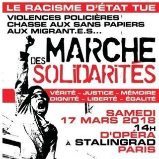La marche des solidarité