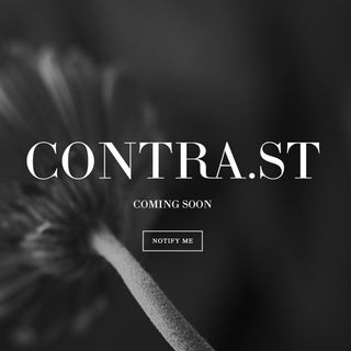 Contrast Update - The Website Is Live!