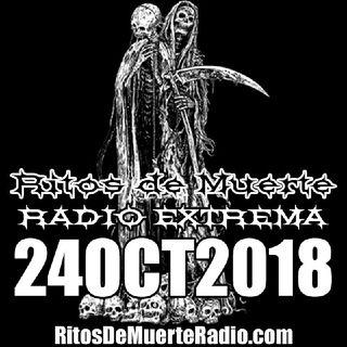 Ritos De Muerte Radio Show 24OCT2018