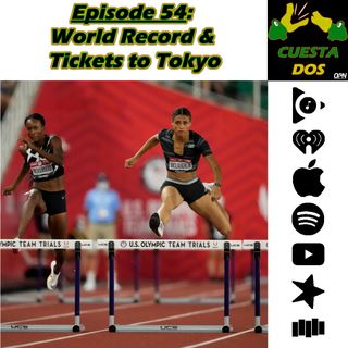 54. World Record & Tickets to Tokyo