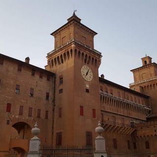 29 settembre 1385. Posa della prima pietra del Castello Estense