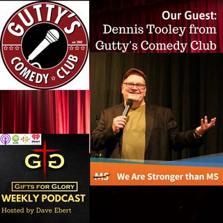 Gutty's Comedy Club's Dennis Tooley