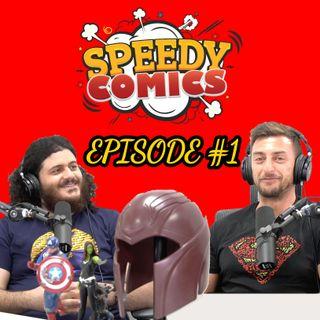 Ep 1 | Batman and Lois | Speedy Comics Podcast