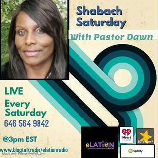 Shabach Saturday with Pastor Dawn