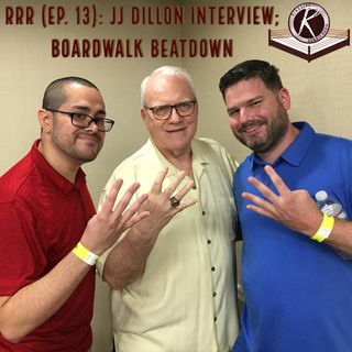 RRR- Episode 13- JJ Dillon Interview; @sawprowrestling #BoardwalkBeatdown