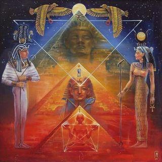 Buongiorno 😃☀️💖 questa mattina lettura 📖 della tavola IX di Thoth