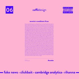 06 - Fake news  · Clickbait · Cambridge Analytica · Rihanna