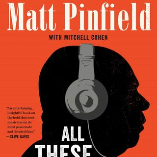 Matt Pinfield All The Things I've Done