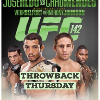 Throwback Thursday: UFC 142